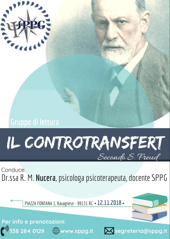 """Gruppo di Lettura """"Il Controtransfert"""" secondo S. Freud"""