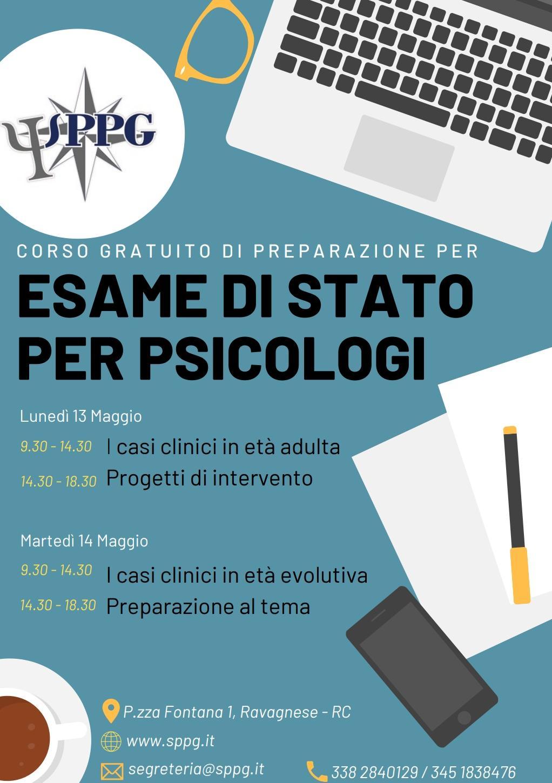 Esame di Stato per Psicologi