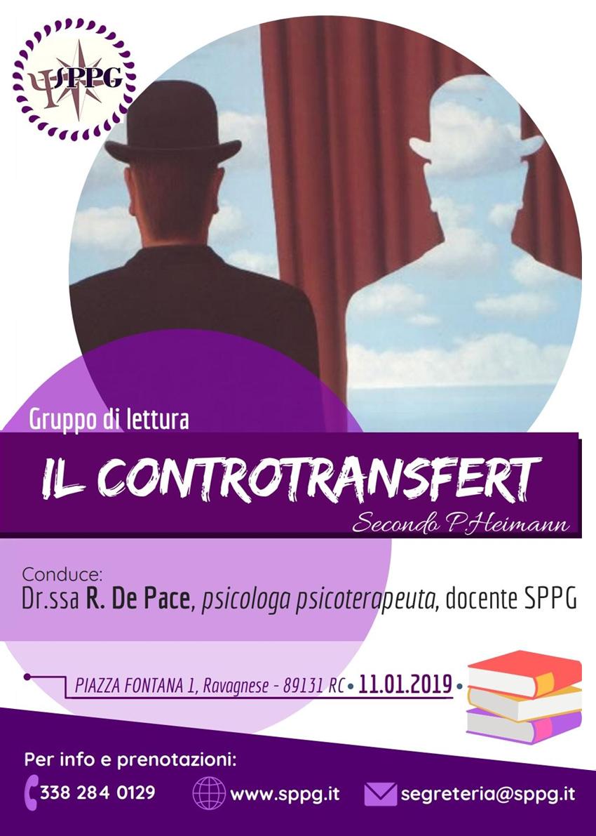 """Gruppo di Lettura """"Il Controtransfert"""" secondo P.Heimann"""